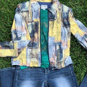 Joseph Ribkoff ZIP up vintage Jacket